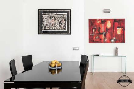 zero6studio San Giovanni: Sala da pranzo in stile in stile Minimalista di Paolo Fusco Photo