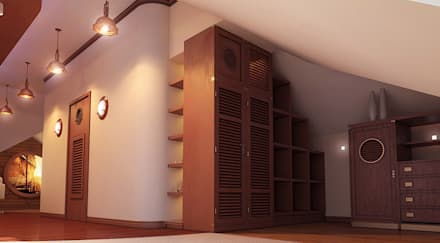 Closets coloniais por Architoria 3D