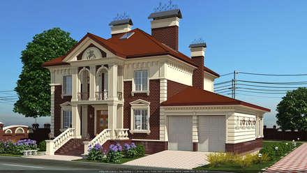 Дом в классическом стиле: Дома в . Автор – Architoria 3D