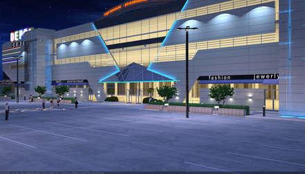 Торговый  центр: Торговые центры в . Автор – Architoria 3D