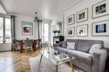 Le charme parisien: Salon de style de style Scandinave par bypierrepetit