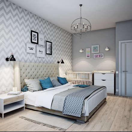 ห้องนอน by Анна Теклюк