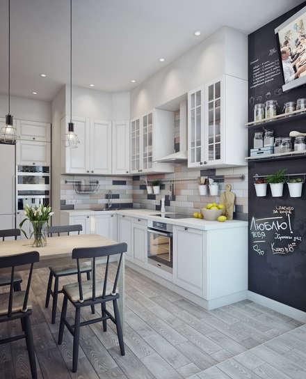 Кухни: идеи для дизайна, вдохновение - фото, Homify