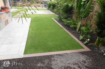 jardn desde el otro extremo jardines de estilo moderno de jardineria islas