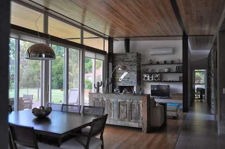 غرفة السفرة تنفيذ Baltera Arquitectura