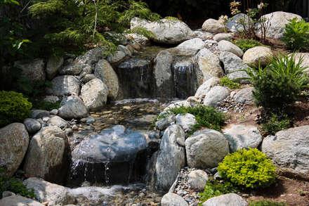 Designergarten im asiatischen Stil: asiatischer Garten von -GardScape- private gardens by Christoph Harreiß