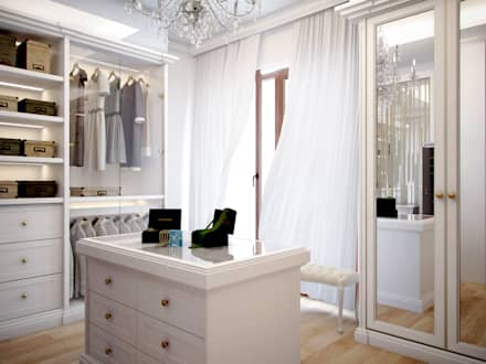 eclectic Dressing room by Bronx