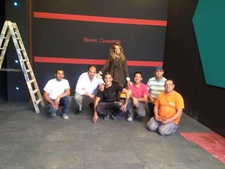 Terraza Lounge en Millesime 2015, de Raquel Chamorro: Ferias de estilo  de Obras Grupo Ingetura