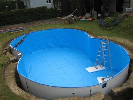 Achtformbecken: moderner Pool von Future Pool GmbH