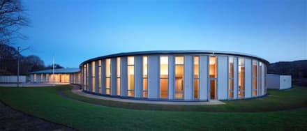 Scotlarch Cladding by Russwood:  Conference Centres by Russwood - Flooring - Cladding - Decking