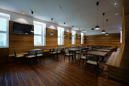 Wallgrain - Interior wall cladding from Russwood:  Schools by Russwood - Flooring - Cladding - Decking