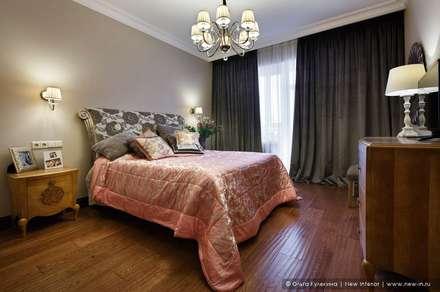 ห้องนอน by Ольга Кулекина - New Interior