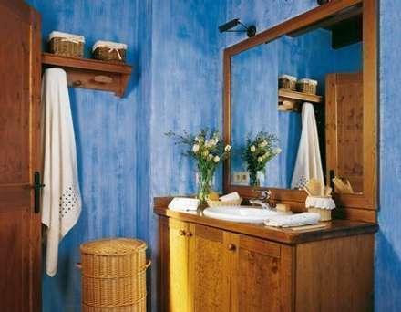Baños de estilo rústico por Barcelona Pintores.es