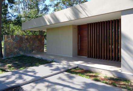 casa d residencia de fin de semana casas de estilo moderno por du