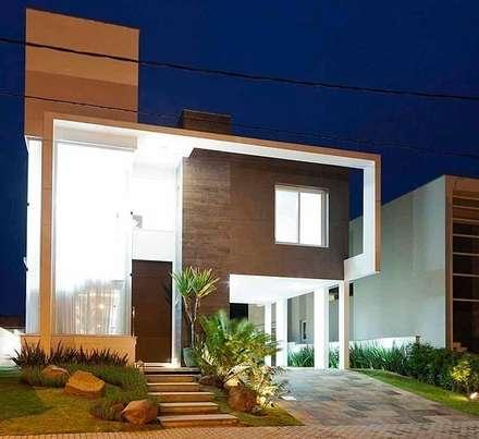 Casa AP+VP: Casas modernas por ANDRÉ PACHECO ARQUITETURA