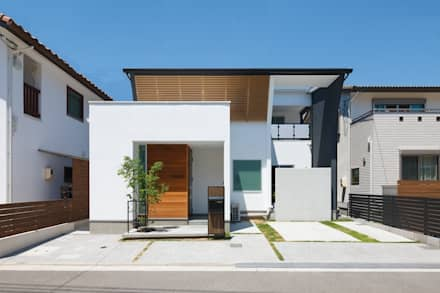 modern Houses by 株式会社トランスデザイン