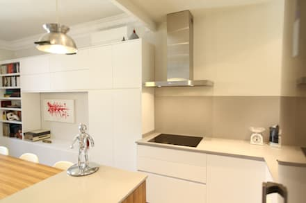 Cocina integrada: Cocinas de estilo moderno de GPA Arquitectura
