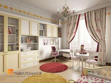 Классический стиль в интерьере квартиры в ЖК «Duderhof Club», 193 кв.м.: Детские комнаты в . Автор – Студия Павла Полынова