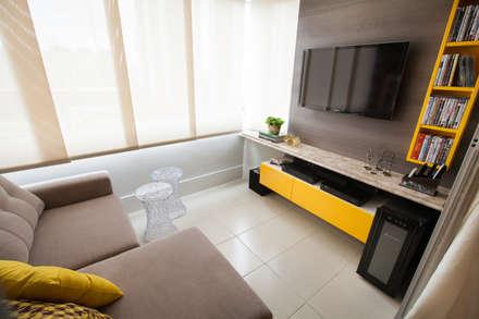 غرفة الميديا تنفيذ Passo3 Arquitetura