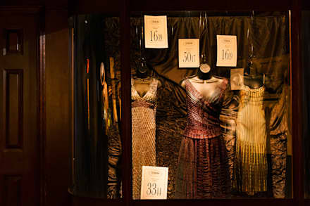 Womans Fashion window 2:  Event venues by Traces London