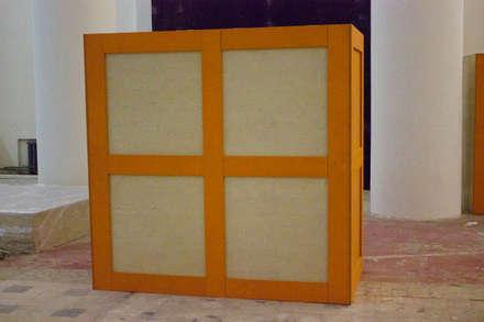 Инфокуб на выставку Бал Роботов: Галереи  в . Автор – Мебельная компания FunEra. Изготовление мебели из фанеры на заказ. http://www.fun-era.ru
