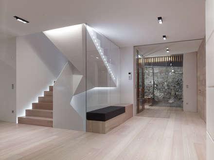 edificio unifamiliare  PF: Ingresso & Corridoio in stile  di Burnazzi  Feltrin  Architects