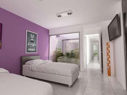 ห้องนอน by Chazarreta-Tohus-Almendra