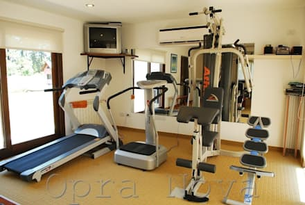 modern Gym by Opra Nova