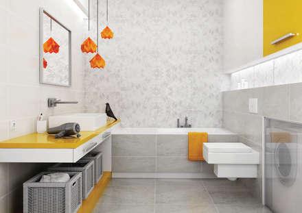 Kolekcja Emilly: styl , w kategorii Łazienka zaprojektowany przez Ceramika Paradyż