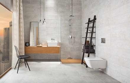 Kolekcja Nirrad: styl , w kategorii Łazienka zaprojektowany przez Ceramika Paradyż