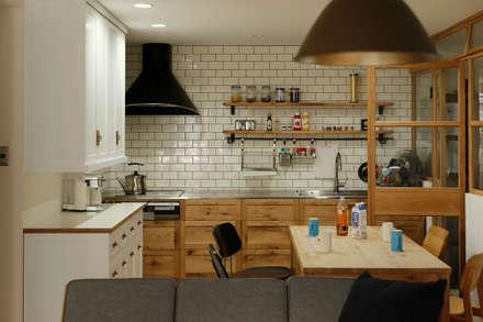 scandinavian Kitchen by ELD INTERIOR PRODUCTS
