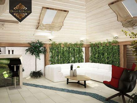 Уютный минимализм: Зимние сады в . Автор – Decor&Design