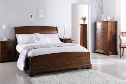 Furniture: country Bedroom by CROWN FRENCH FURNITURE