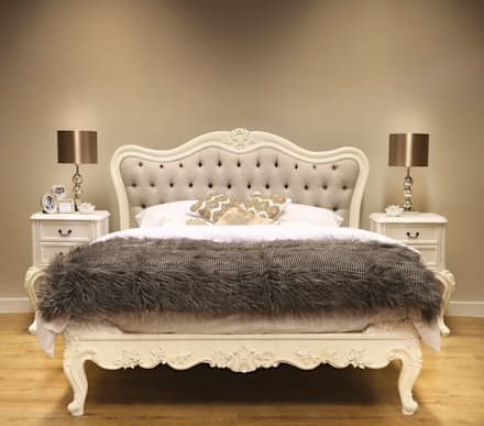 Furniture: classic Bedroom by CROWN FRENCH FURNITURE