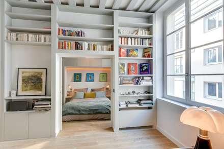 Appartement Paris: Chambre de style de style Industriel par Meero