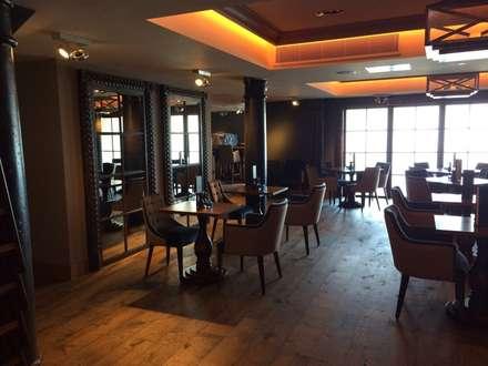 Raeburn Internal Bar :  Hotels by Aitken Turnbull Architects
