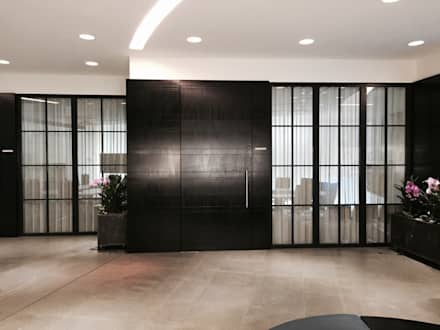 Glass doors by Work House Collection