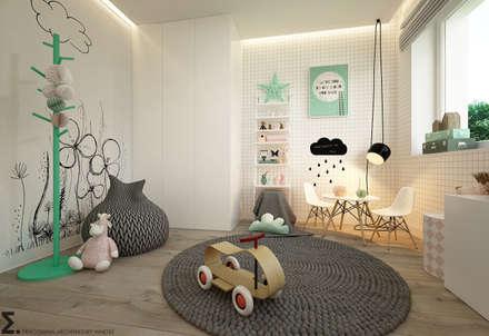 Projekty,  Pokój dziecięcy zaprojektowane przez homify