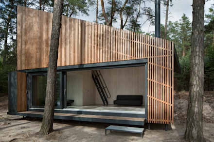 Lake Cabin : modern Houses by FAM Architekti
