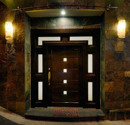 Puertas y ventanas ideas im genes y decoraci n homify for Puertas dobles de madera modernas