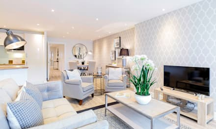 Living Room by WN Interiors: modern Living room by WN Interiors of Poole in Dorset