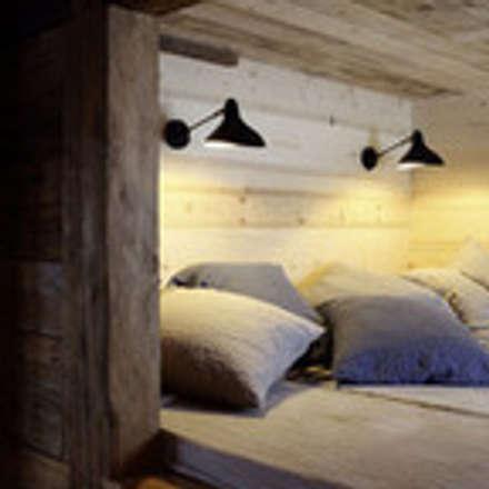 Projet Pasteur: Chambre de style de stile Rural par Carlotta Mongelli