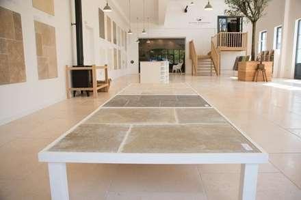 Cotes Mill - Limestone Displays:  Walls by Floors of Stone Ltd