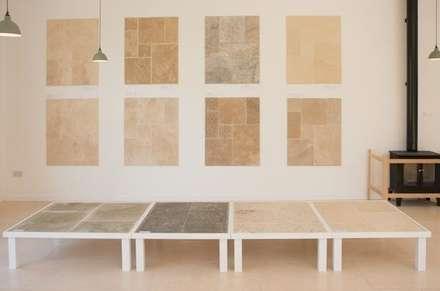 Cotes Mill Displays:  Walls by Floors of Stone Ltd