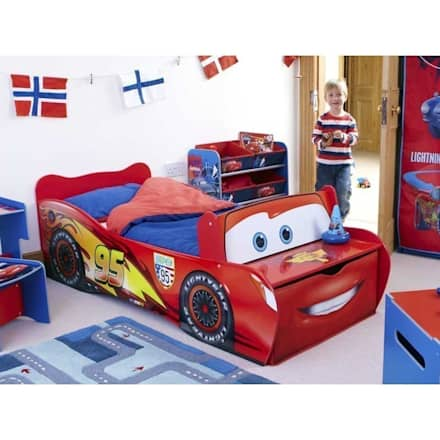 Cama coche Cars 140 x 70 cm : Habitaciones de niños de estilo  de bainba.com