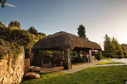 La orientación: Jardines de estilo tropical de Slabon  Forja Creativa