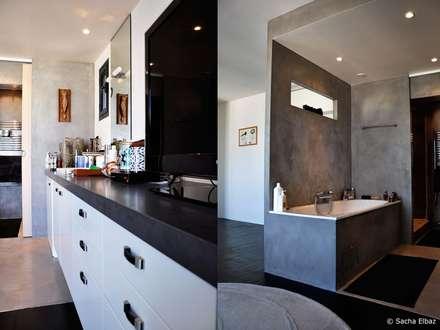 salle de bain industrielle: idées & inspiration | homify - Salle De Bain Style Loft