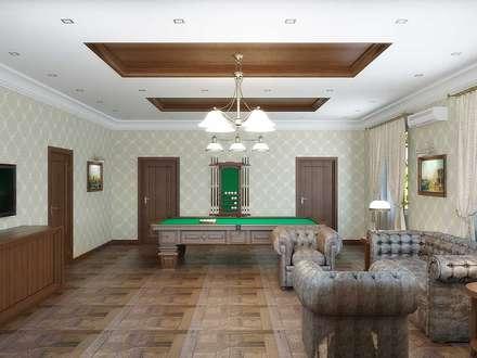 classic Media room by Симуков Святослав частный дизайнер интерьера
