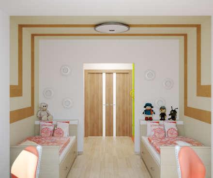 Квартира на Таганке: Детские комнаты в . Автор – Симуков Святослав частный дизайнер интерьера