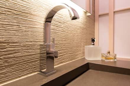 Baddisigne, Asiatiasch Touch: asiatische Badezimmer von Ulrich holz -Baddesign